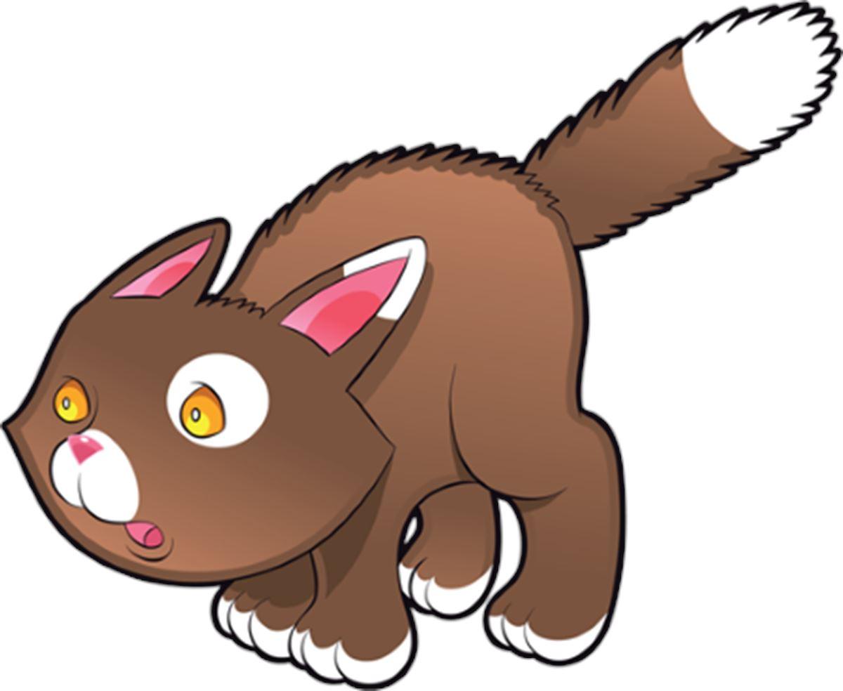 Adesivi murali gattino nocciola leostickers for Planner cameretta